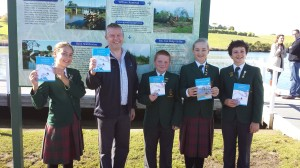 Gippsland Grammar students with Ryan Smith MP