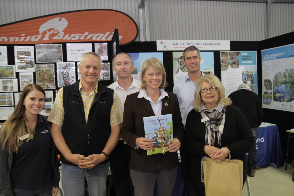 Book Launch at Henty Machinery Field Day 2014