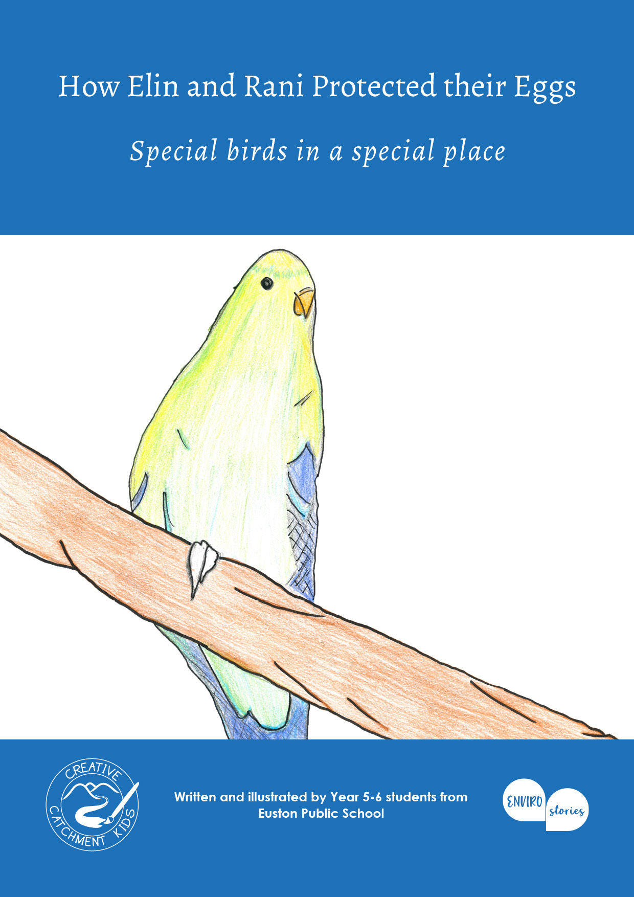 How Elin and Rani Protected their Eggs: Special birds in a special place