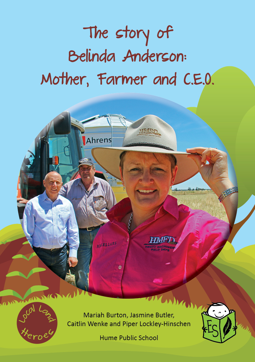 The story of Belinda Anderson: Mother, Farmer and CEO