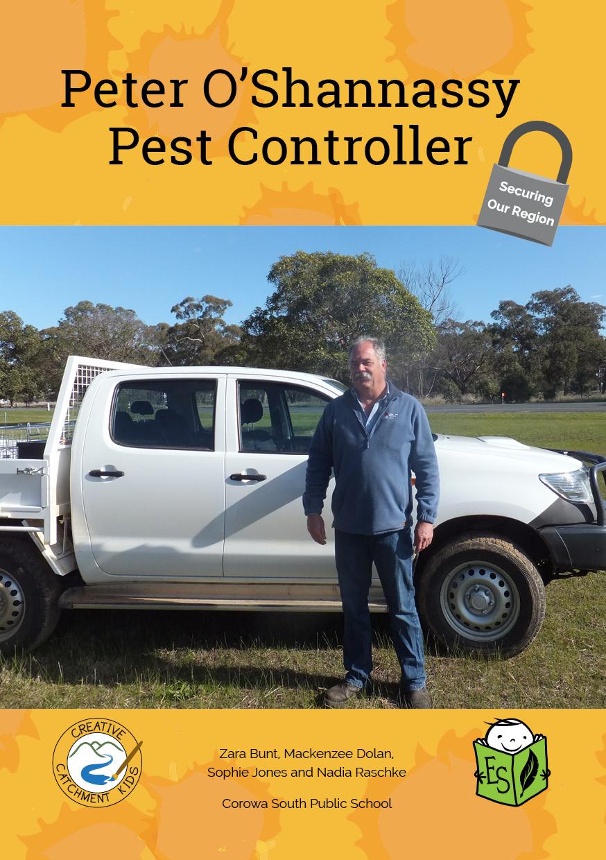 Peter O'Shannassy – Pest Controller