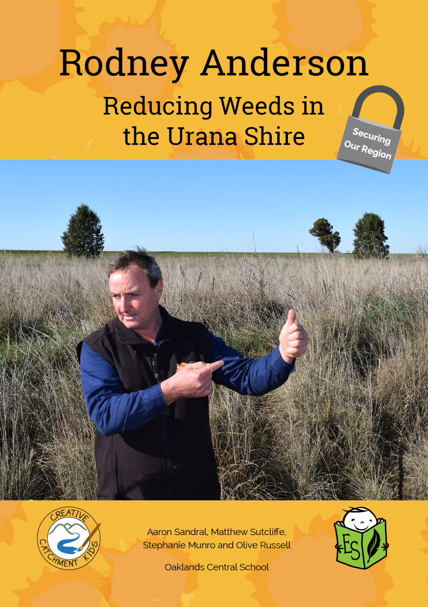 Rodney Anderson – Reducing Weeds in the Urana Shire