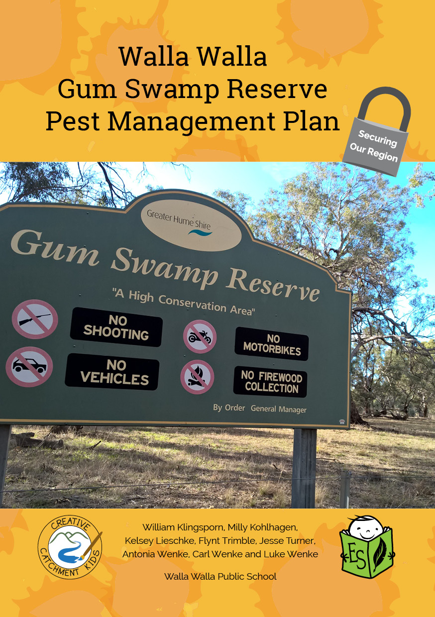 Walla Walla Gum Swamp Reserve Pest Management Plan