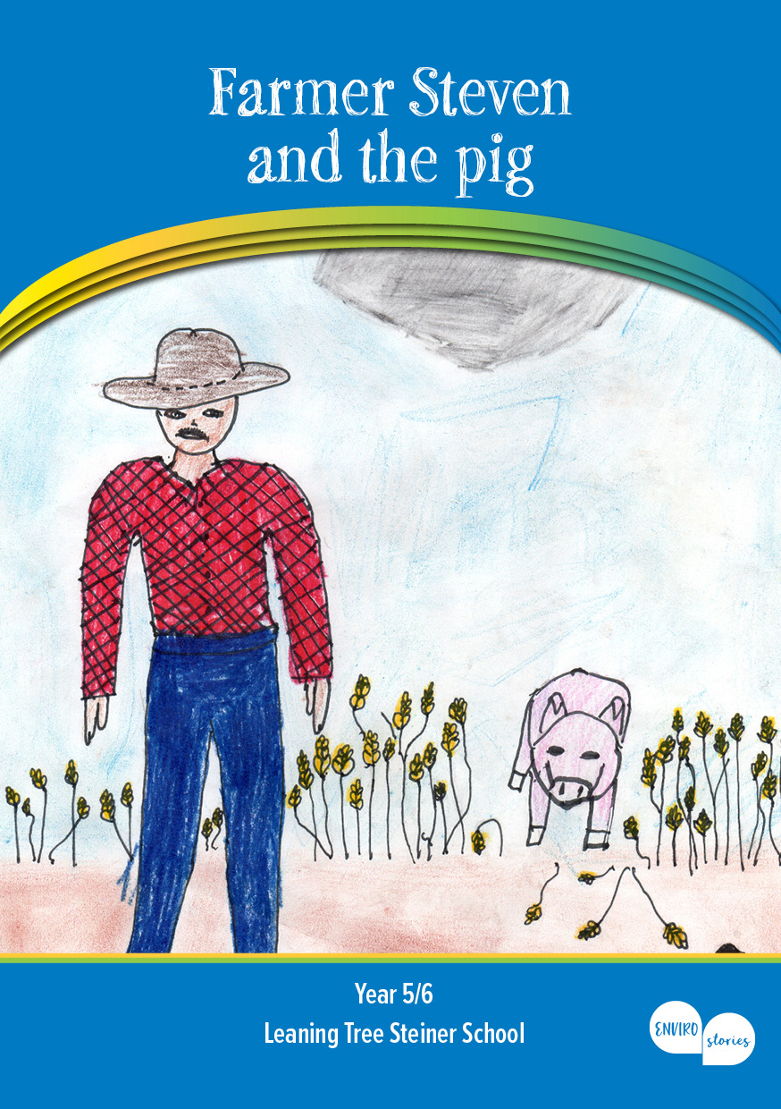 Farmer Steven and the pig