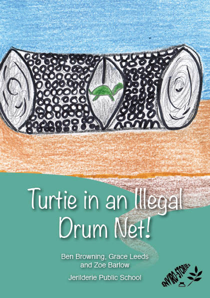 Turtie in the Illegal Drum Net!