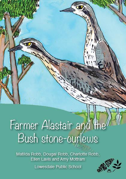 Farmer Alastair and the Bush Stone-curlews