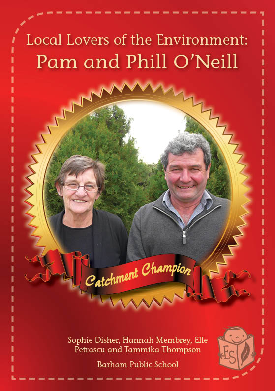 Local Lovers of the Environment: Pam and Phill O'Neill