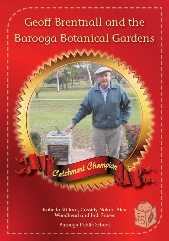 Geoff Brentnall and the Barooga Botanical Gardens