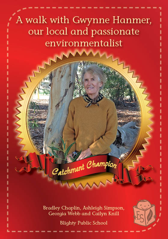 A walk with Gwynne Hanmer, our local and passionate environmentalist