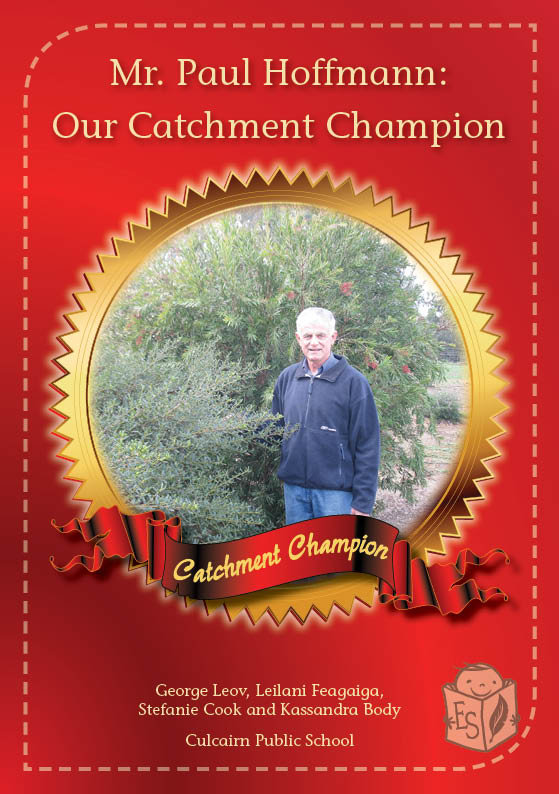 Mr Paul Hoffman: Our Catchment Champion