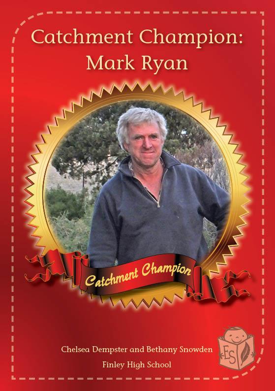 Catchment Champion: Mark Ryan