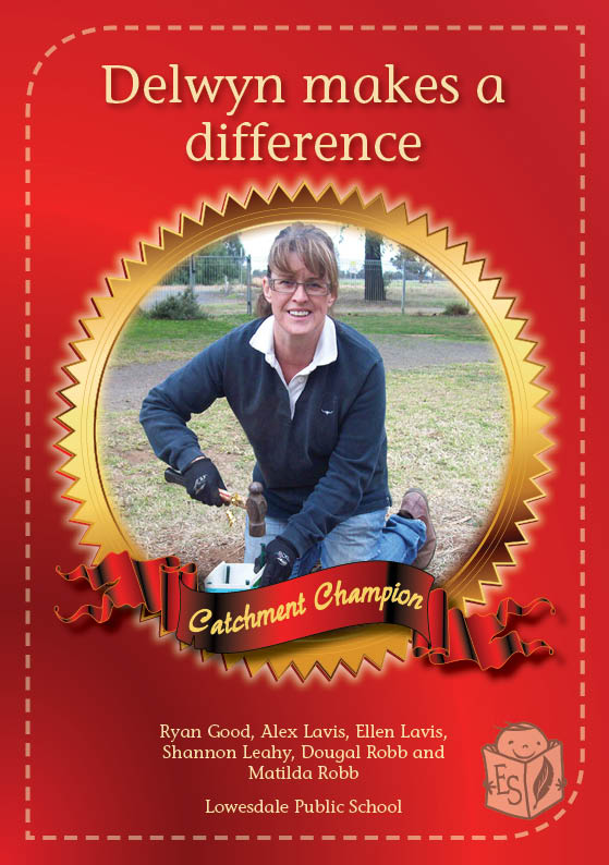 Delwyn makes a difference