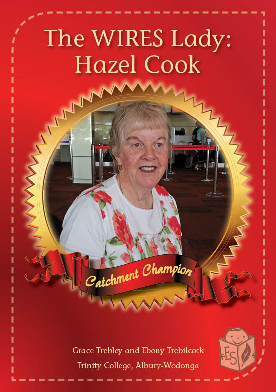 The WIRES Lady: Hazel Cook